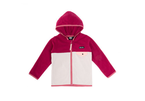 Hooké Kangaroo Zip Fleece Pink