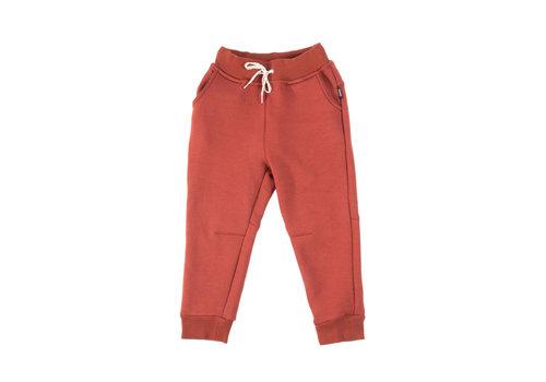 Hooké Pantalon Coton Ouaté Campbell Picante