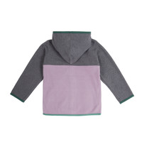 Purple Kangaroo Zip Fleece