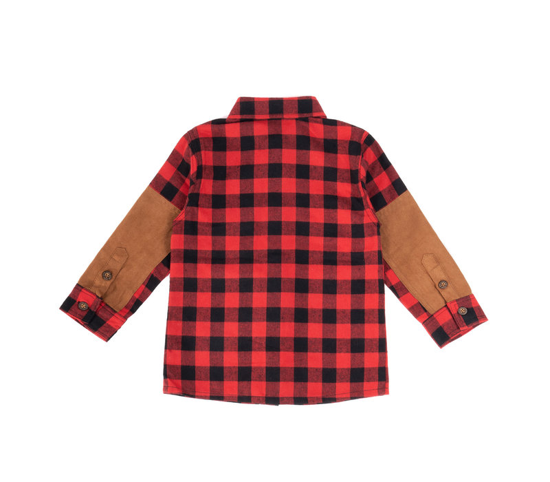 Red Kids Canadian Shirt