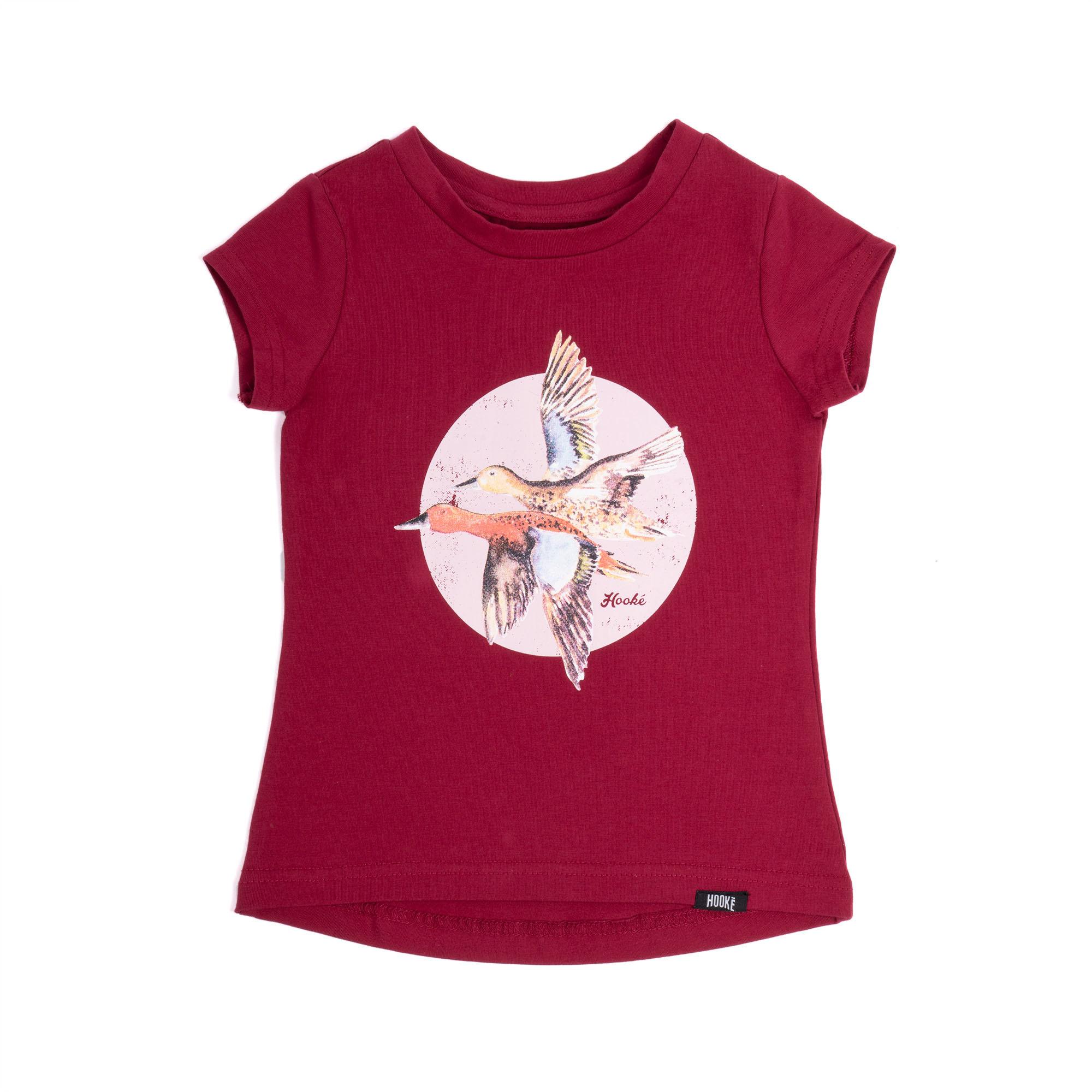 T-Shirt Canard Rose