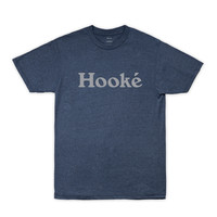 Hooké Original Tee Indigo Black Heather