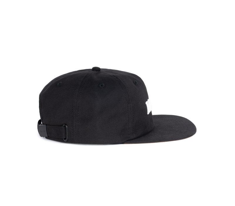Hooké Strap Back Black