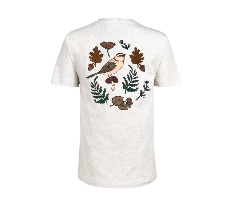 Women's Foliage T-Shirt Oatmeal