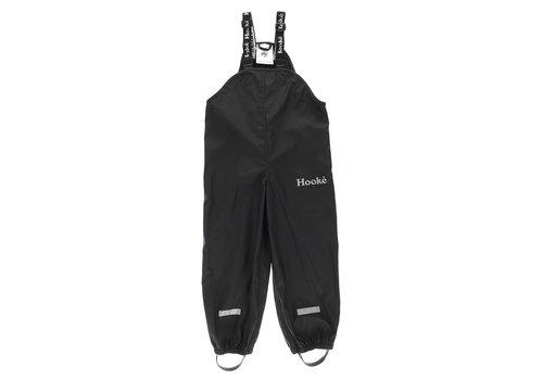 Hooké Kids Rain Overalls Black