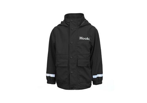 Hooké Manteau de pluie noir pour enfant