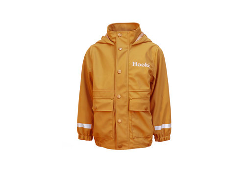 Rain Jacket for Kids Ochre