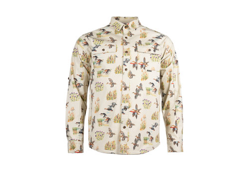 Hooké Wildfowl Shirt Cream