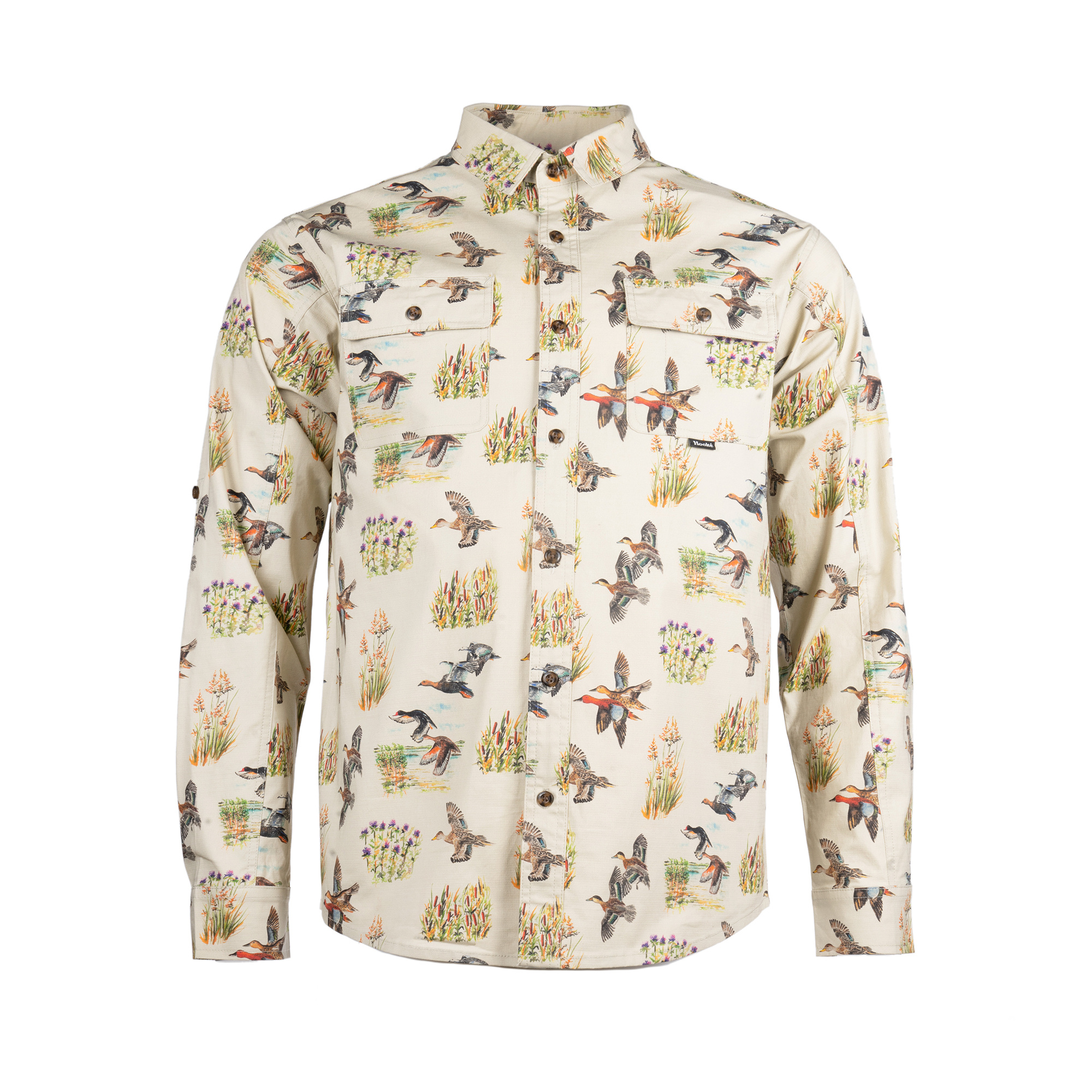 Wildfowl Shirt Cream