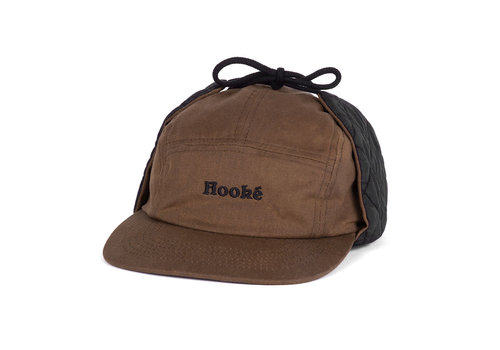 Ear Flap Camper Hat Brown