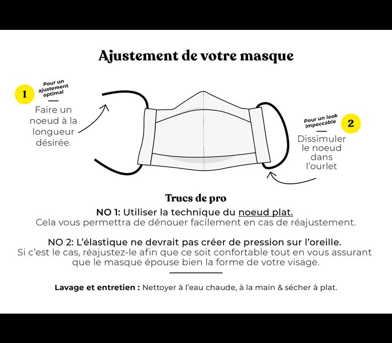 Mask Hooké X Augustin & Co Peacan