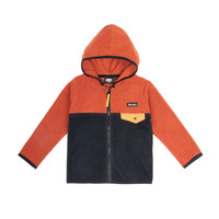 Kangourou Polar Zip Orange
