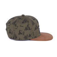 Casquette Camping Olive