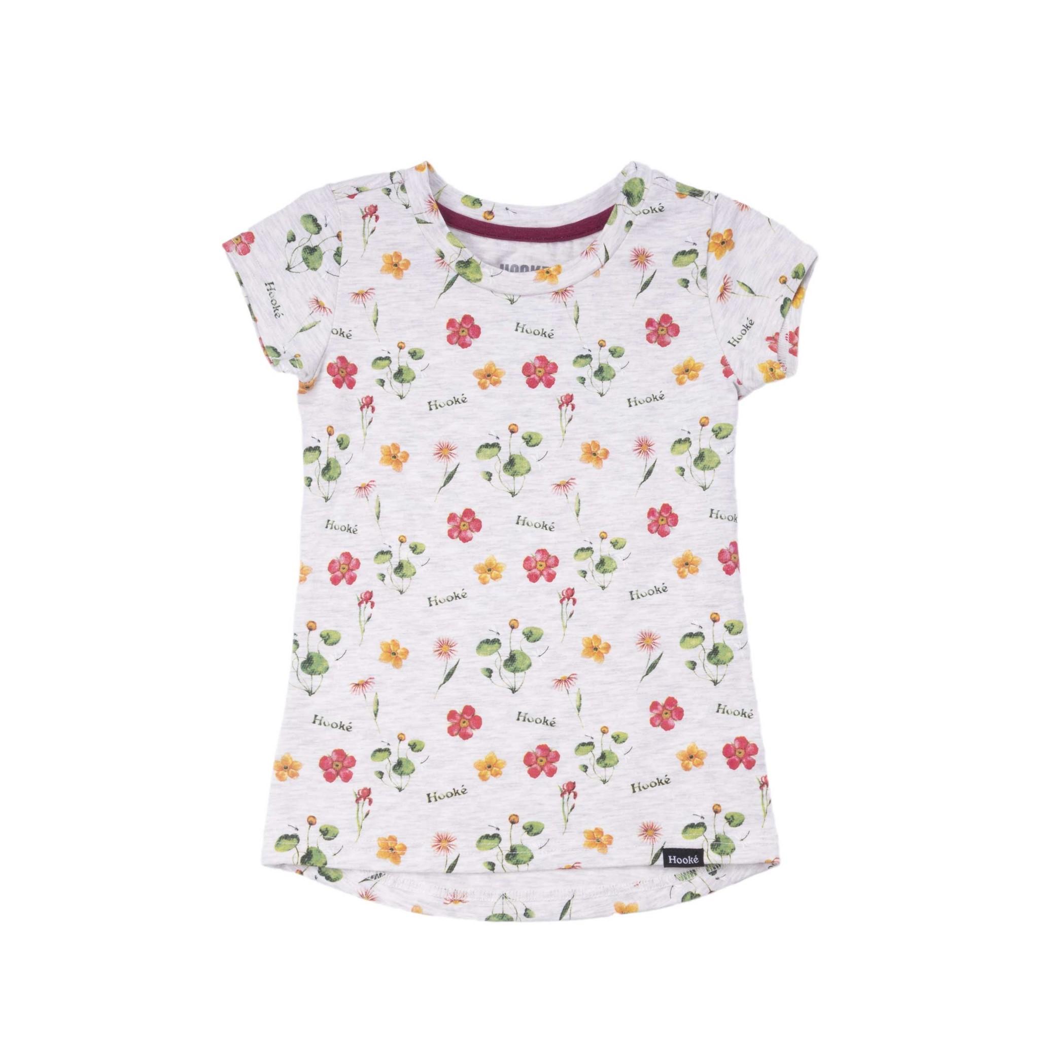 T-Shirt Fleurs Sauvages Ivoire