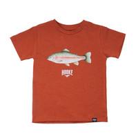 T-Shirt Truite Arc-en-ciel Orange