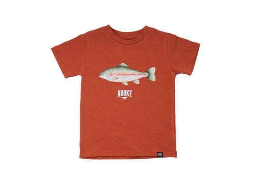 T-Shirt Truite Arc-en-ciel Orange