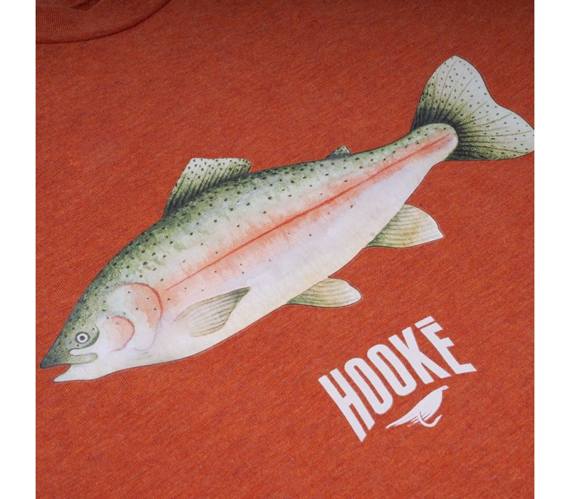 Rainbow Trout T-Shirt Orange