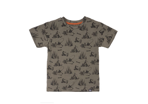 T-Shirt Camping Olive