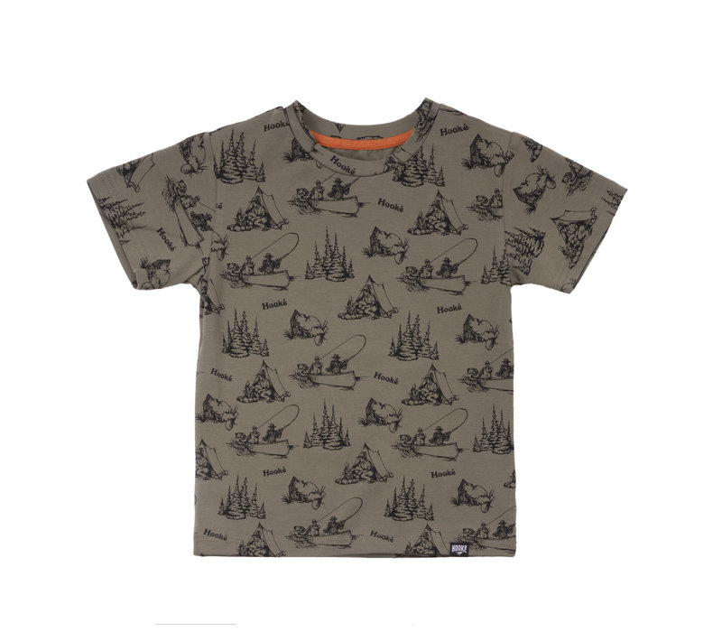 Camping T-Shirt Olive