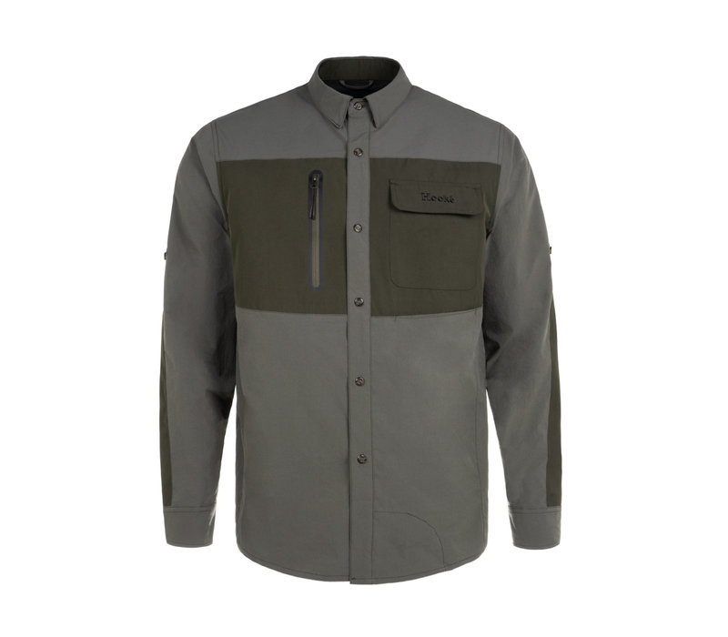 Field Shirt Charcoal & Olive