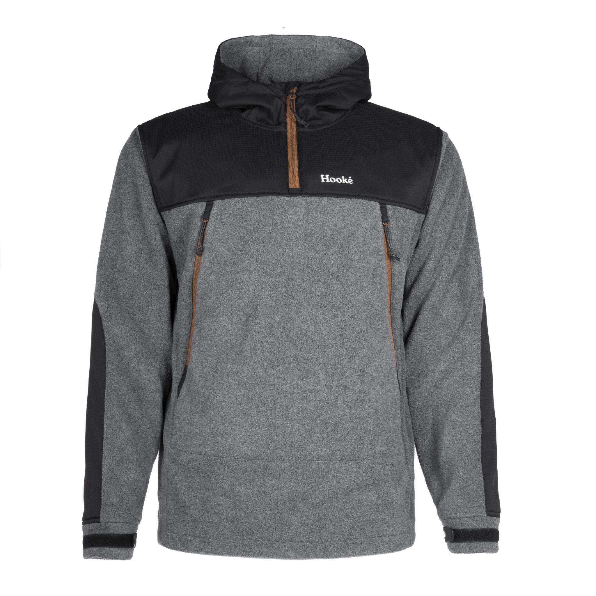 Tech Fleece Hoodie Charcoal & Black
