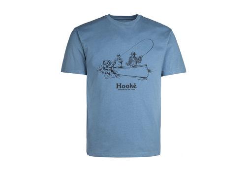 Fish On T-Shirt Bluestone