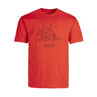 T-Shirt Feu de Camp Rouge Terre