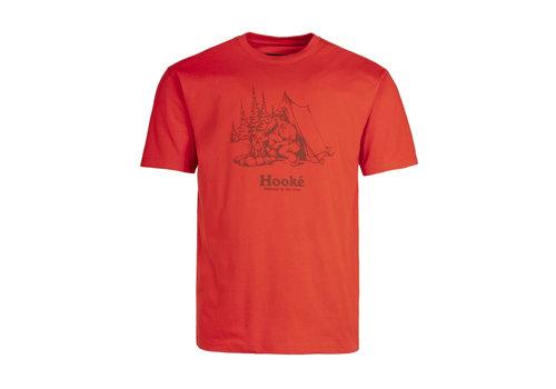 T-Shirt Feu de Camp Rouge Terre