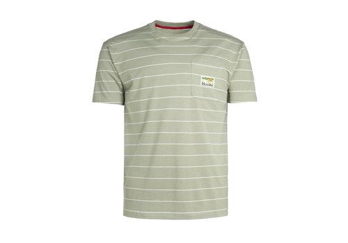 T-Shirt Camping à poche Sauge Clair