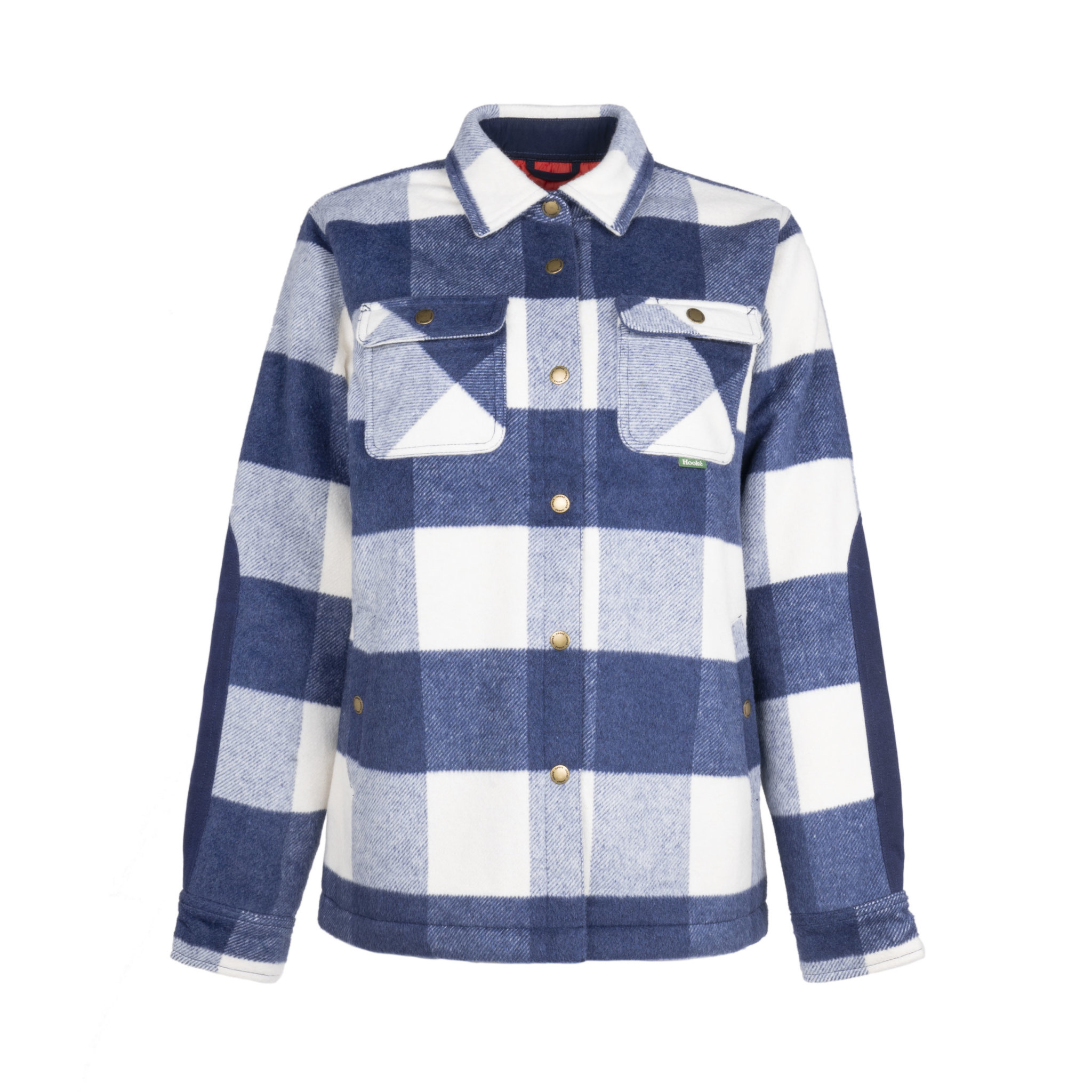Women's Quebec Insulated Shirt Navy & White Plaid