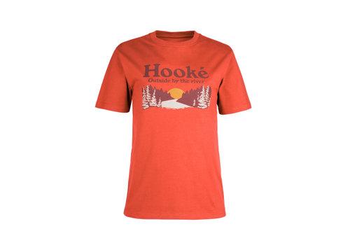 T-Shirt Coucher de Soleil Rouge Terre