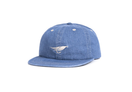 Fly Denim Strap Back  Blue Denim