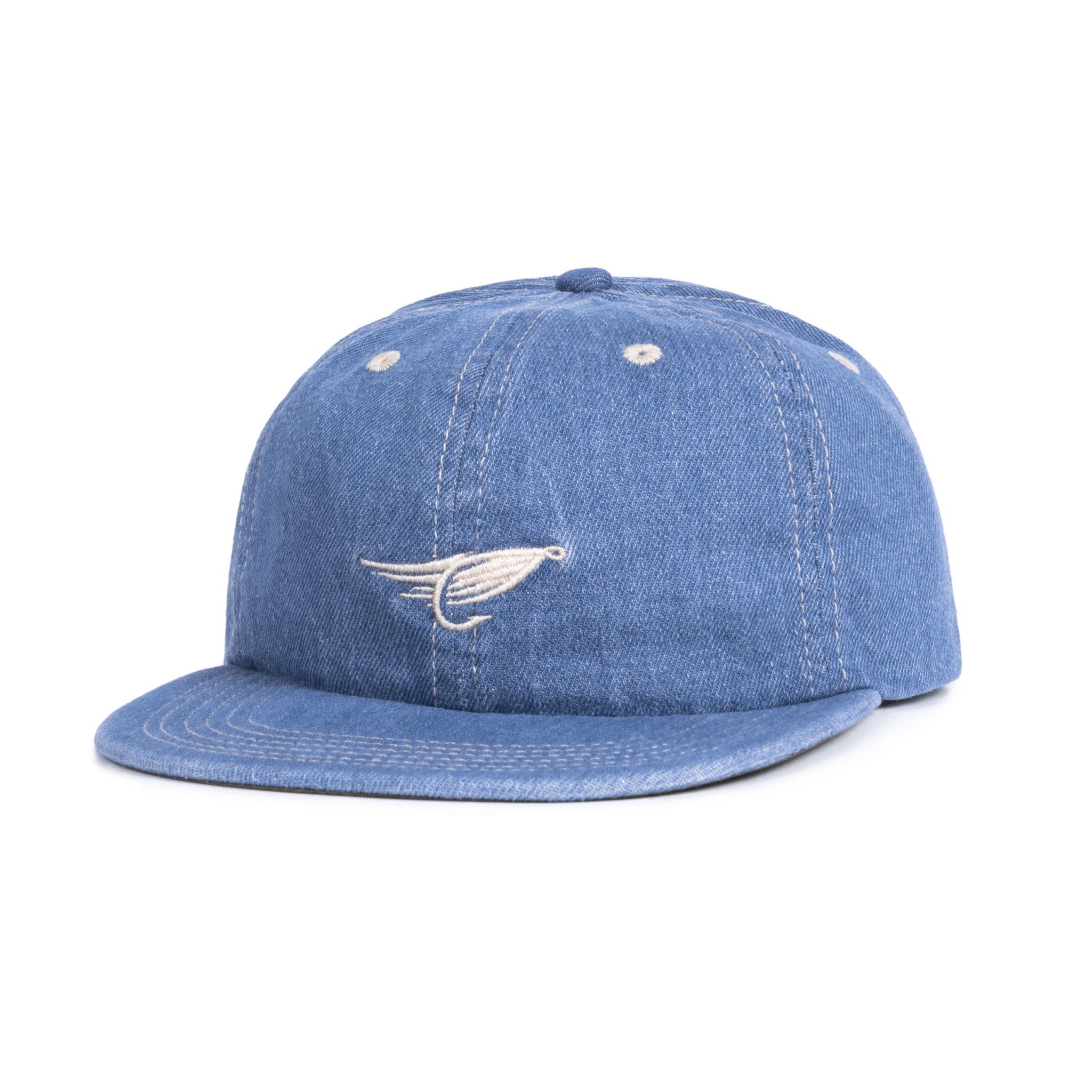 Fly Denim Strap Back  Blue Denim