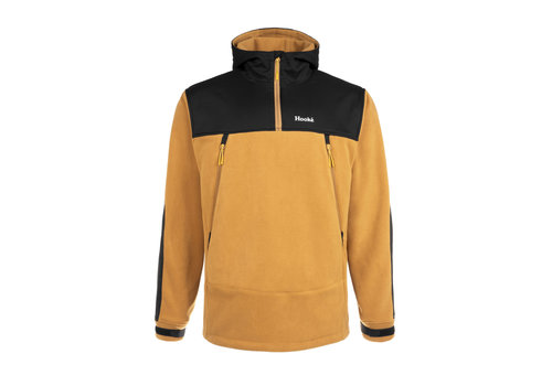 Hooké Tech Fleece Hoodie Golden Brown