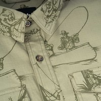 Beaver Shirt Olive