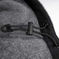 Tech Fleece Hoodie Charcoal & Black