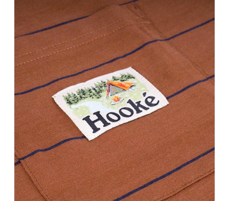 T-Shirt Camping à poche Huile d'argan