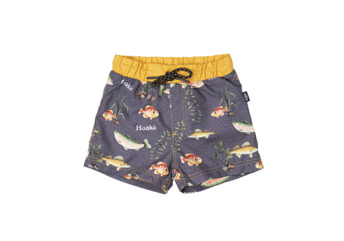 Maillot Shorts Poisson Charbon