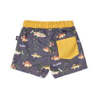 Maillot Shorts Poisson Charbon