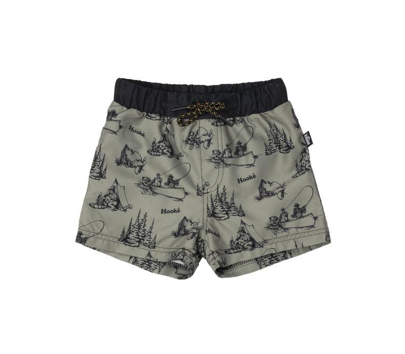 Maillot Shorts Camping Olive