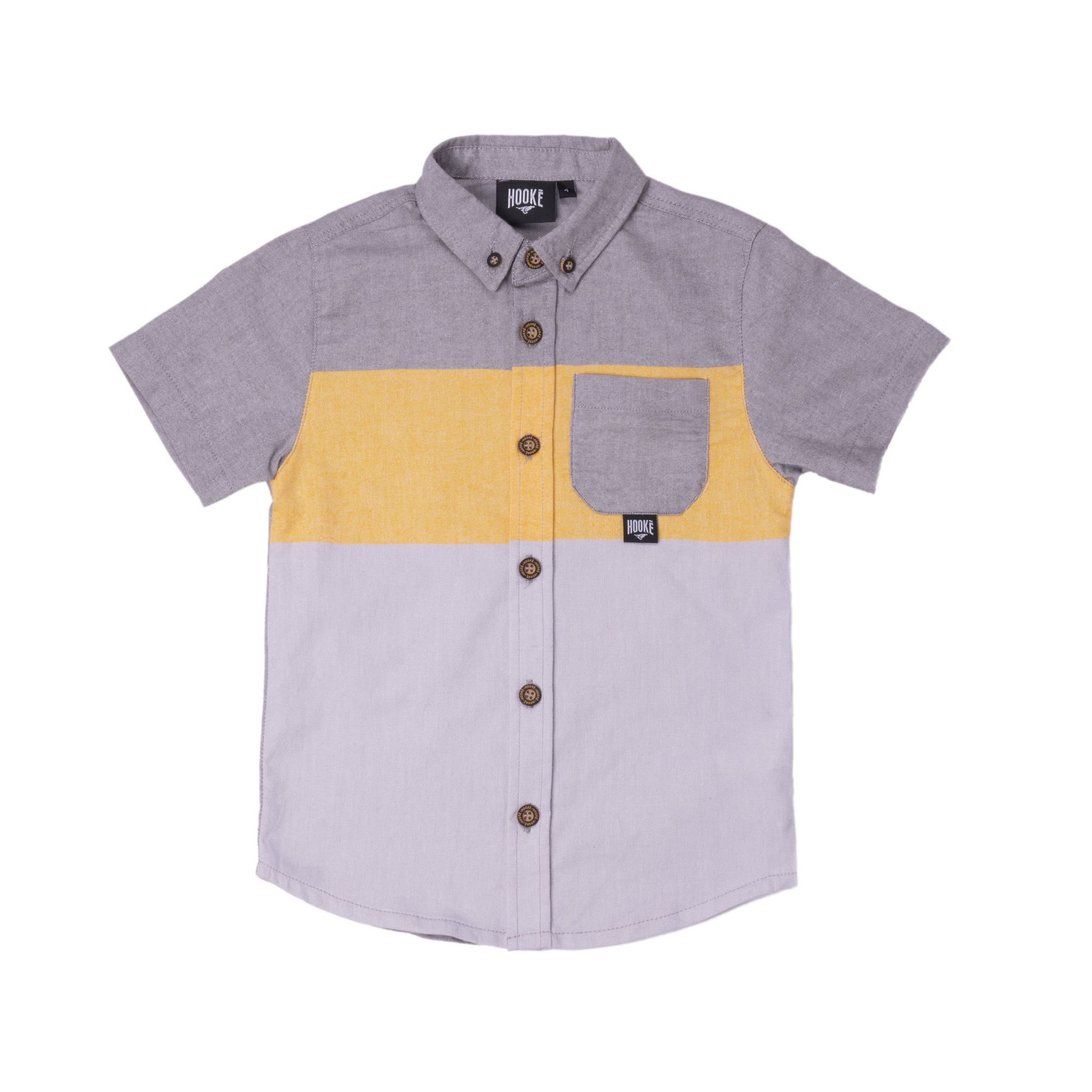Fisherman Shirt Charcoal Mix