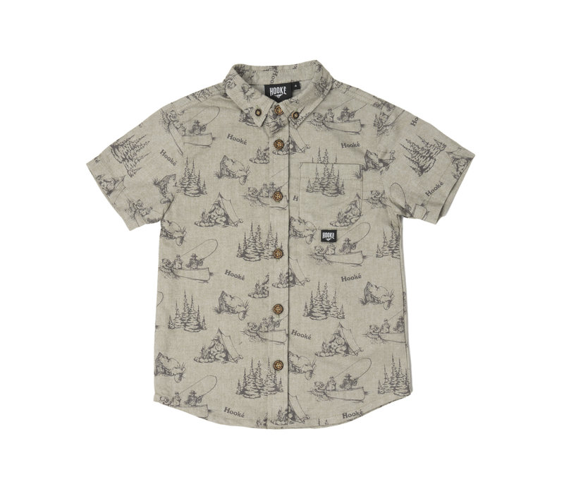 Chemise Camping Olive