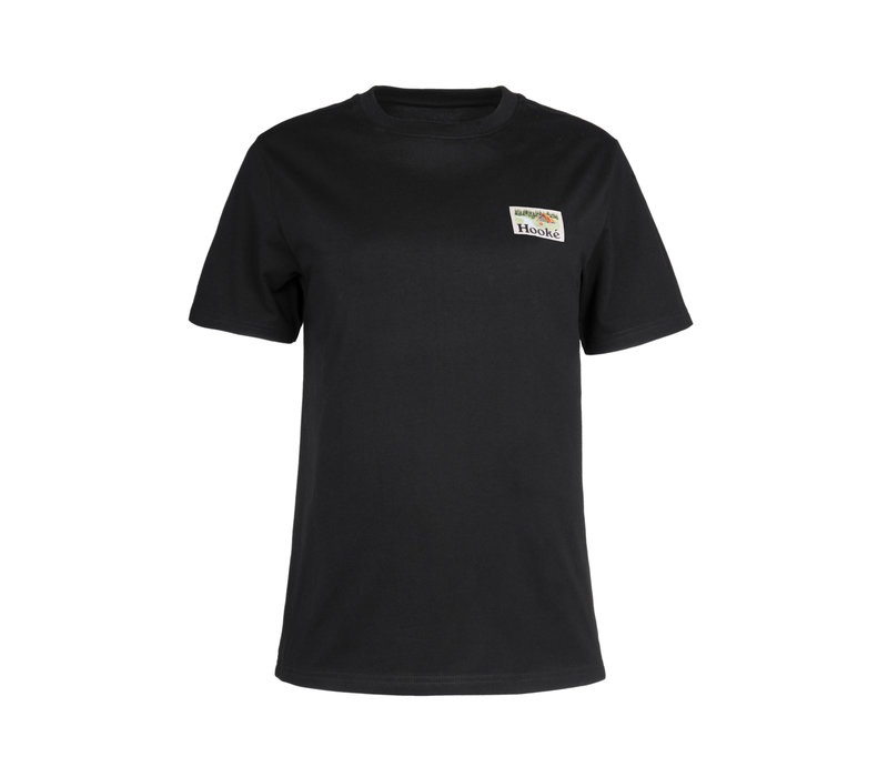 T-shirt Camping Noir pour femme