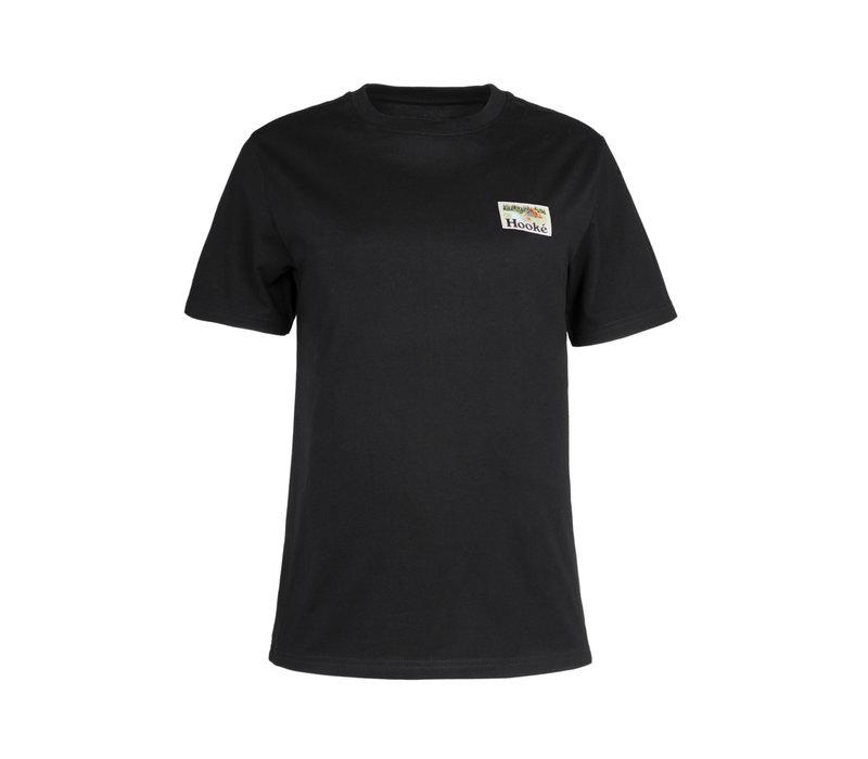 T-shirt Camping Noir