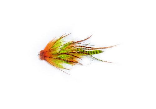 Ezee Buford - Orange/ Chartreuse