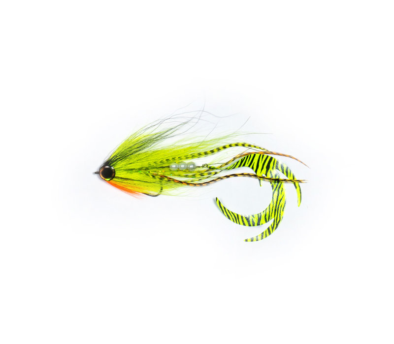 Ezee Bait - Red & Chartreuse