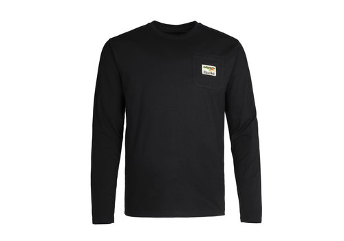 Camping Pocket Long Sleeve Black