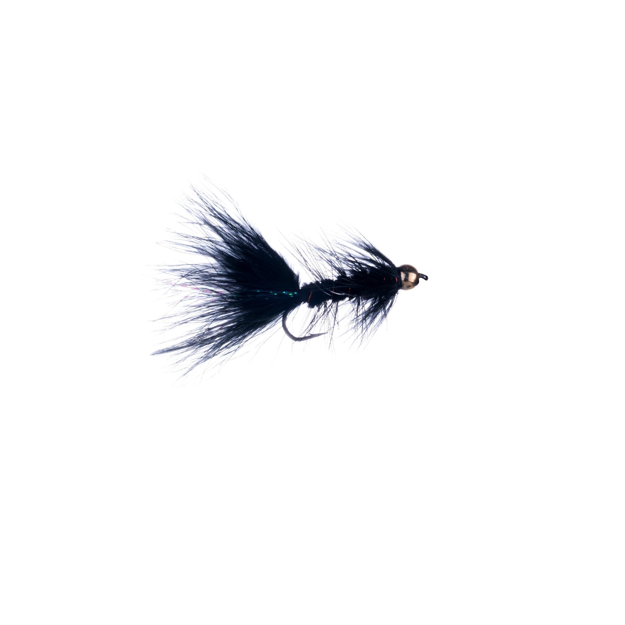 Woolly Bugger Black BH