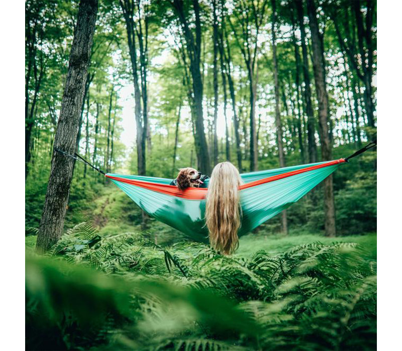Recycled Hammock With Straps