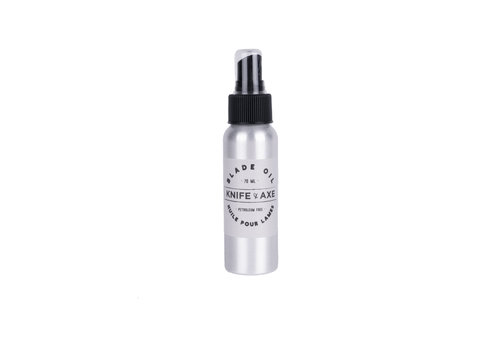 knife and axe Huile pour Lames 70ml